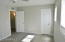 Large master bedroom with two large closets
