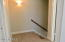 Upstairs Landing with accent light feature