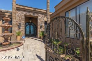 Gated Entry, complete with Water Feature