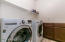 Name brand washer/dryer included!