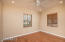 Dining room off of kitchen has two large windows to allow plenty of natural light.