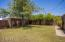 Large backyard with plenty of room to play and entertain.