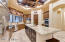 Oversize top of the line appliances double oven and walk-in pantry