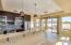 Beautiful kitchen with newer stainless steel appliances