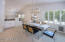 dining room over looks big family room/kitchen/great room