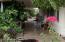 Long shaded patio