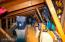 Garage upper level storage!