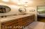Master bath with custom built drawers.