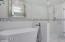 Master Bathroom with beautiful soaking tub and modern walk in shower