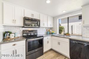 Luxury Designer Remodel~ New Quartz Countertops, New Cabinets, New LED Lights & Fans, New Tile Plank Flooring