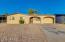 Front of home - easy desert landscaping!