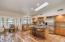 Open Floor Plan- kitchen- dining
