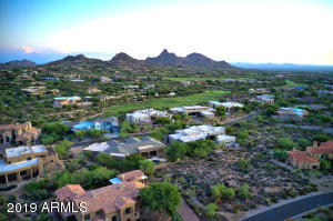 South Backyard with view of Pinnacle Peak and City Lights Corridor