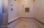 Huge Master Shower with Designer Tile