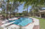 The home is located on the McCormick Ranch greenbelt with direct access to the path