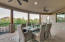 Additional dining area with spectacular view!
