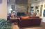 community TV/coffee room