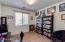 Downstairs bedroom/den/office space