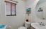 Downstairs half bath
