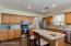 Kitchen with all matching stainless appliances