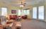 Open concept floor plan features large Great room.