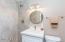 Tile Shower and Quartz Counter