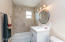 Quartz Counters and Tile Shower