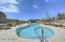 The Ridge's heated community pool.