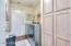 Interior Laundry Room and Broom Closet