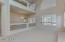 Loft area is large (30 x 15) and can be used as a play area , study area or entertainment area