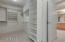 Master bedroom closet is very big and well designed