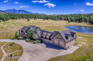 On two beautiful acres with Views!