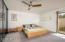 Master bedroom with views and 2 walk in closets