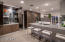 Custom cabinets open with lighting