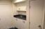 Wet bar in basement wine cellar.