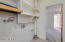 Inside laundry/pantry