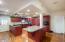 Kitchen, west wing.