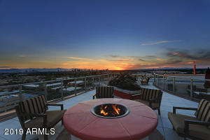 Roof Top Fire Place