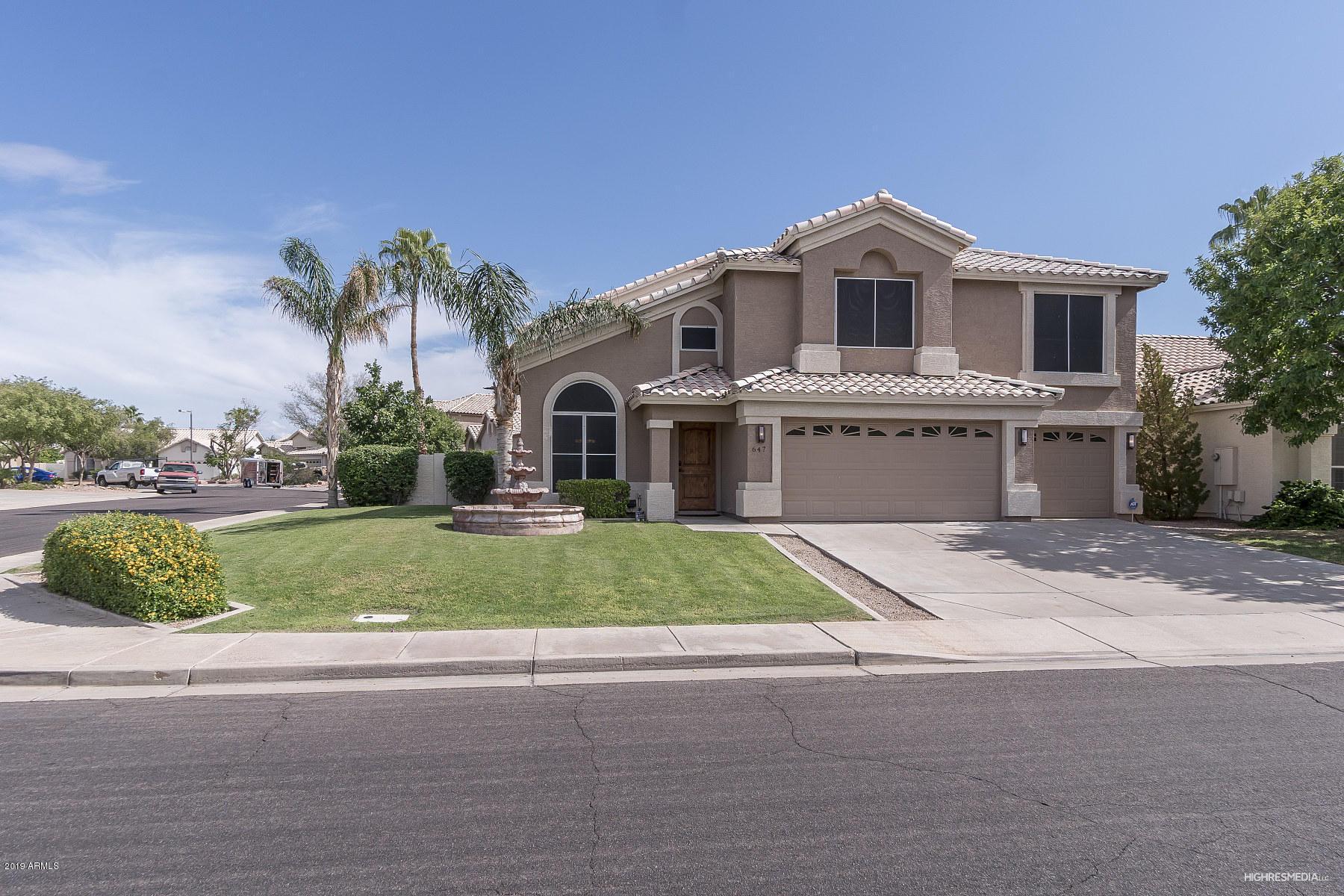 Photo of 647 S CHOLLA Street, Gilbert, AZ 85233
