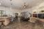 Large family room and kitchen