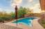 Pool and spa can be heated to enjoy during the cooler months.