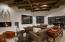 Custom Hand Hewn Cedar Ceilings & Beams & Limestone Flooring