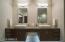 Sleek Floating Bathroom Vanity With LED Under Lighting