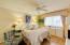 Very nice Master Bedroom with vinyl flooring