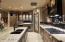 Beveridge and wine chiller under raised counter.