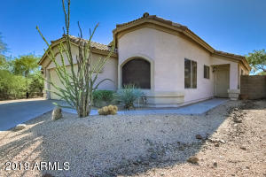 Front walkway with gorgeous Ocotillo plant!
