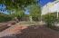 Backyard brick paver patio.