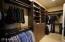 Huge Master closet with custom built-ins