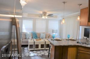 Updated Floor, Counter Tops, Cabinets with Lazy Susan, Lights