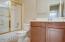 Hall bath up